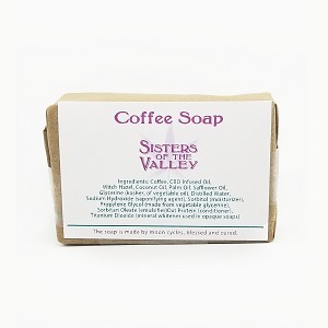 Coffee Soap Infused with CBD
